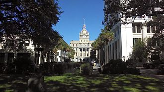 Georgia (U.S. state) - City Hall in Savannah