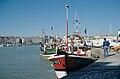 Scènes de retour de pêche - Chalutier à quai (5).jpg
