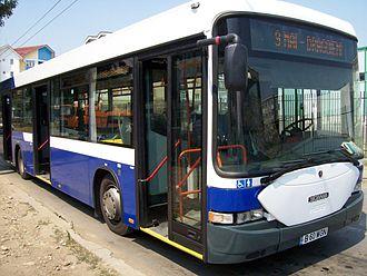 Grivița (vehicle manufacturer) - Image: Scania Hess Grivbus