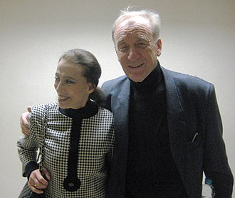 Carmen Suite (ballet) - Rodion Shchedrin with his wife, Maya Plisetskaya, in 2009. He wrote Carmen Suite for Plisetskaya