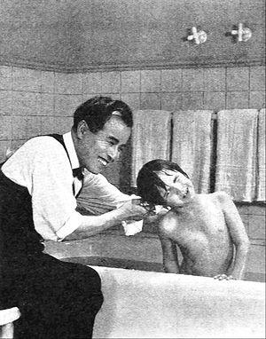 George Kuwa - Kuwa with Jackie Coogan in the 1923 film Daddy