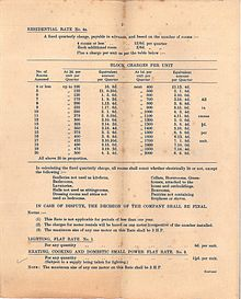 Schedule of charges, page 2 (West Gloucestershire Power Company).jpg