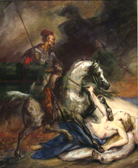 Allegory of the November Uprising (Polonia, 1831).