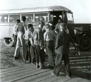 School bus - Late 1930s school bus