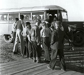 School bus - Late 1930s school bus