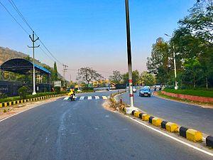 Scindia, Visakhapatnam - Scindia road near HPCL