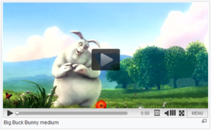 Screenshot of TimedMediaHandler extension with Big Buck Bunny as background video.png