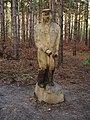 Sculpture in Broxbourne Woods. - geograph.org.uk - 77916.jpg
