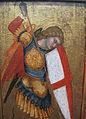 Scuola senese, san michele e il drago, XIV sec, 03.JPG