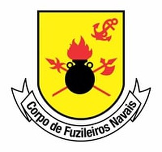 Battle of Curuzú - Image: Seal of the Brazilian Marine Corps