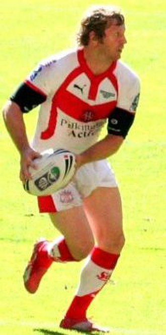Sean Long - Long playing for St Helens in the 2007 Challenge Cup final