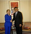 Secretary Clinton and ASEAN Secretary General Pitsuwan.jpg