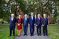 Secretary Kerry Poses for Photo With European Counterparts at Tufts University in Massachusetts (29866320166).jpg