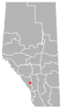 Seebe, Alberta Location.png