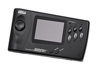 Genesis Nomad handheld game console