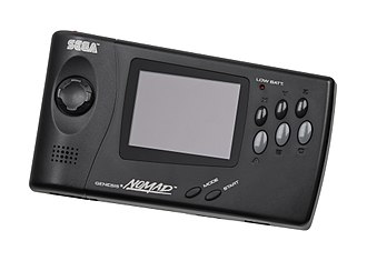 Fifth generation of video game consoles - Image: Sega Nomad Front