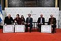Senado entrega mención de honor a Pinky Satragno, Ricardo Romero y Roberto Di Sandro 01.jpg