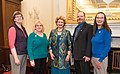 Senator Stabenow meets with representatives of the United Postmasters and Managers of America (32361070333).jpg