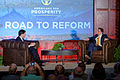 Senator of Florida Marco Rubio at Americans for Prosperity Road To Reform in Manchester, NH June 2015 by Michael Vadon 01.jpg