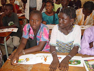 Students in Senegal Senegal students.jpg