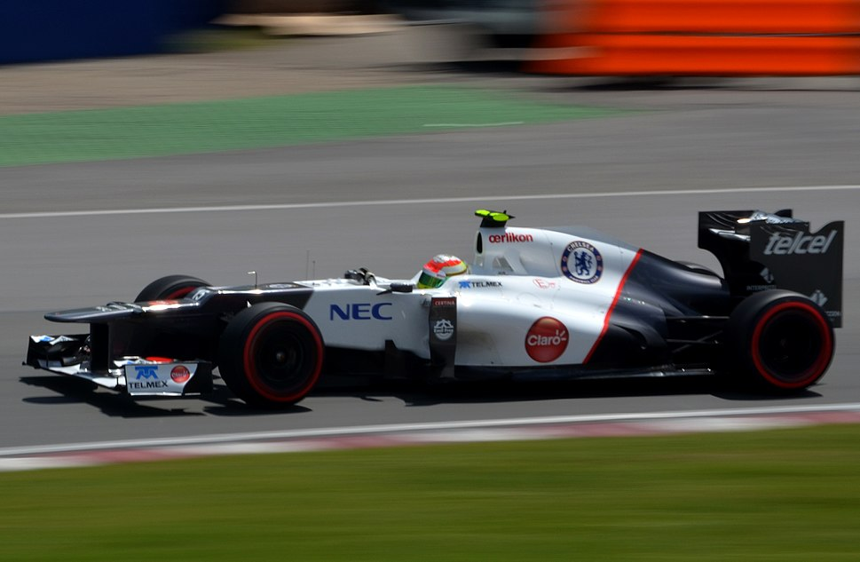 Sergio Perez 2012 Canadian GP - Crop
