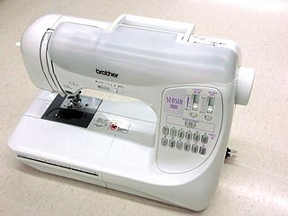 The Brother sewing machine