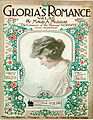 Sheet music cover - GLORIA'S ROMANCE - VALSE (1916).jpg