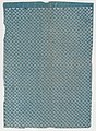 Sheet with overall pattern of dots in triangular shapes Met DP886586.jpg
