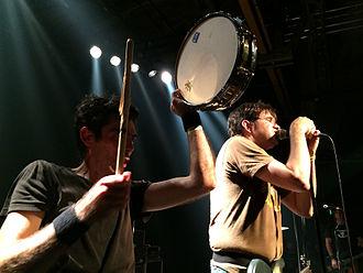 Shellac (band) - Shellac performing live in Hamburg, Nov. 1, 2014