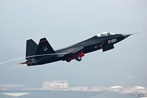 Shenyang J-31 (F60) at 2014 Zhuhai Air Show.jpg