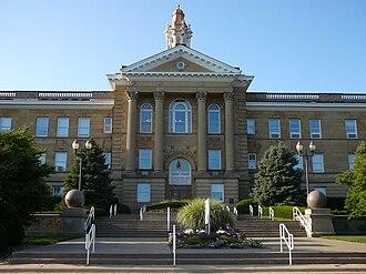 Western Illinois University - Sherman Hall