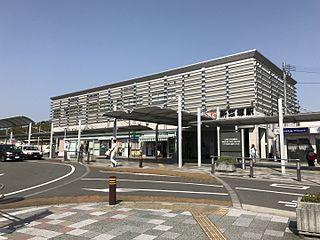 Shin-Iizuka Station Railway station in Iizuka, Fukuoka Prefecture, Japan