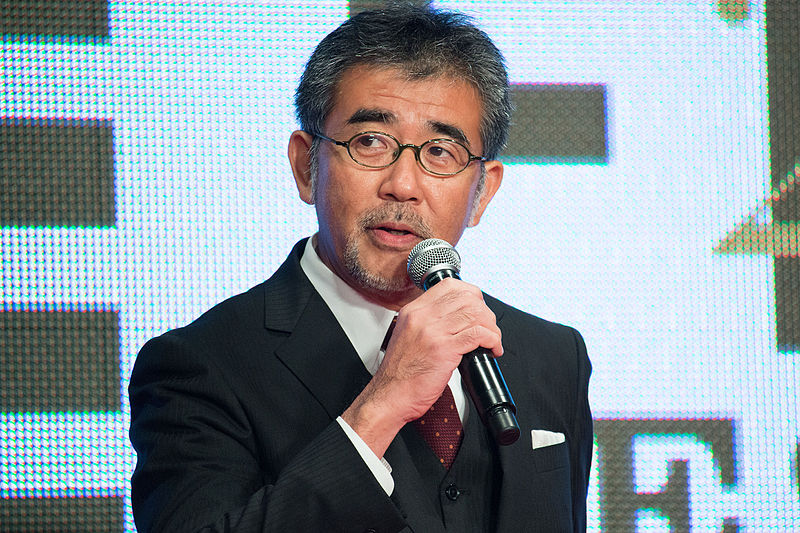 "File:Shinohara Tetsuo ""Terminal"" at Opening Ceremony of the 28th Tokyo International Film Festival (22443580622).jpg"