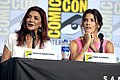 Shohreh Aghdashloo & Cobie Smulders (48460088441).jpg