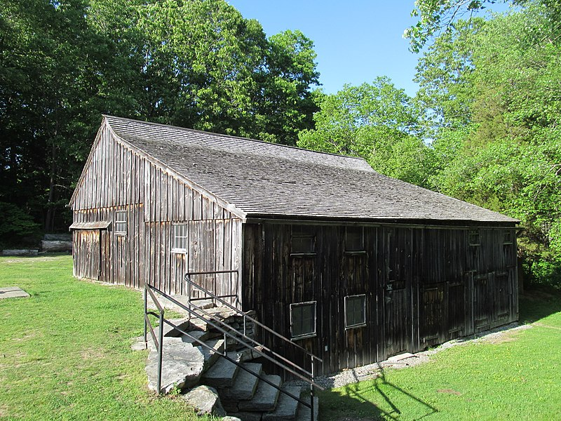 Side view, Main Sawmill, Ledyard, CT