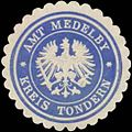 Siegelmarke Amt Medelby Kreis Tondern W0360480.jpg