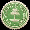 Siegelmarke Der Stadtrat zu Weissenberg W0240419.jpg