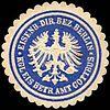 Siegelmarke Eisenbahn Direktions Bezirk Berlin - Königliche Eisenbahn Betriebs Amt Cottbus W0221161.jpg