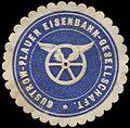 Siegelmarke Güstrow-Plauer Eisenbahn-Gesellschaft.jpg