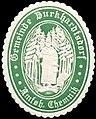 Siegelmarke Gemeinde Burkhardtsdorf Amtsh. Chemnitz W0314223.jpg