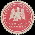 Siegelmarke Inspektion der Ballon-Abwehr-Kanonen W0363854.jpg