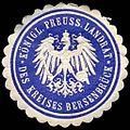 Siegelmarke Königlich Preussischer Landrat des Kreises Bersenbrück W0245789.jpg