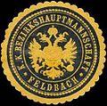 Siegelmarke K.K. Bezirkshauptmannschaft Feldbach W0320964.jpg