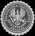 Siegelmarke K.Pr. 20te Infanterie Brigade W0363883.jpg