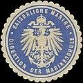 Siegelmarke K. Marine Direktion der Marineschule W0357469.jpg