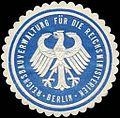 Siegelmarke Reichsbauverwaltung für die Reichsministerien - Berlin W0240268.jpg
