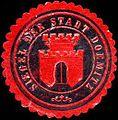 Siegelmarke Siegel der Stadt Doemitz W0212802.jpg