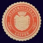 Siegelmarke Stadtmagistrat Laufen.png