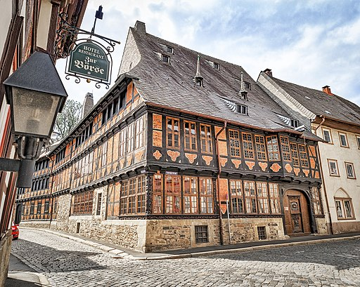 Siemenshaus im Frankenbergviertel (Altstadt Goslar)