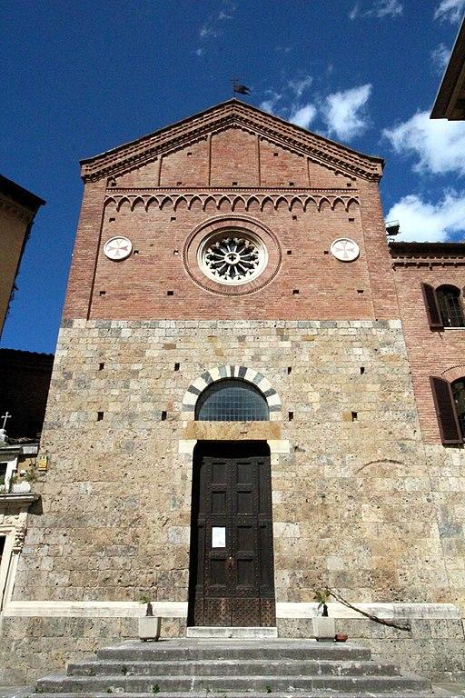 Chiesa di San Michele al Monte di San Donato), Piazza dell'Abbadia, Siena